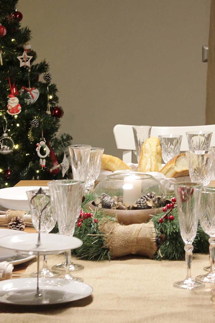 Tavola natalizia: due idee per un Natale Boho-chic