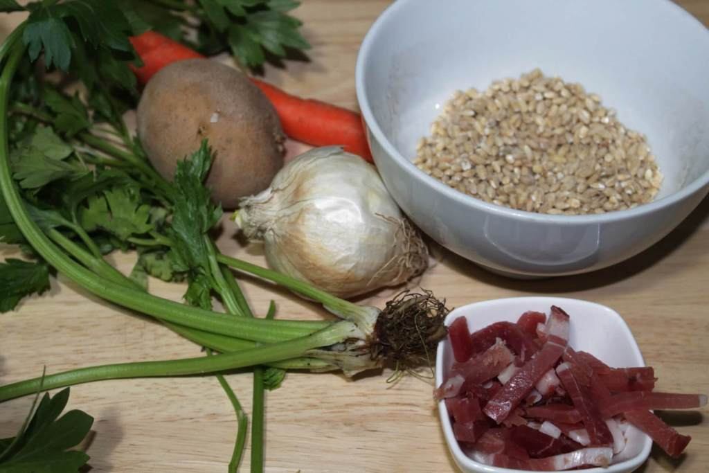 zuppa d'orzo ingredienti