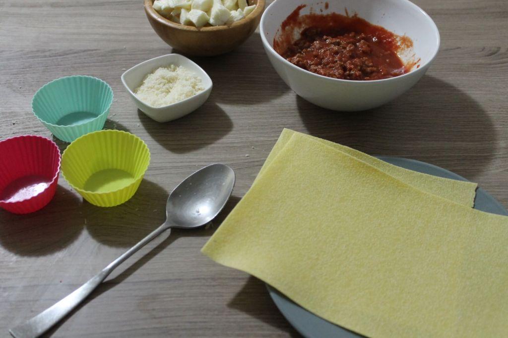 cestini di lasagna ingredienti