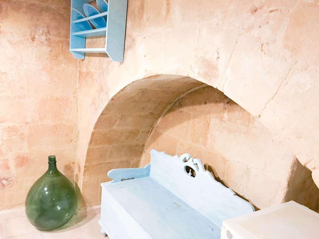 particolari della cucina appartamento casa del sole matera