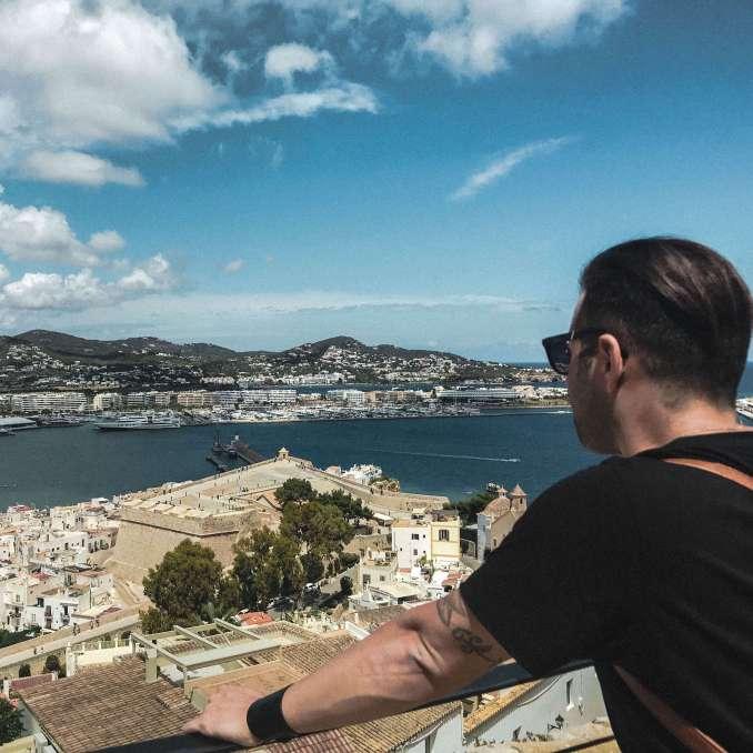 foto ibiza-centro di Ibiza-vista dalla citta vecchia