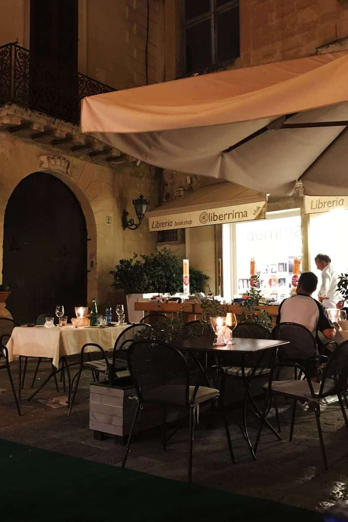 Restaurant In the shadow of the Lecce Baroque: review