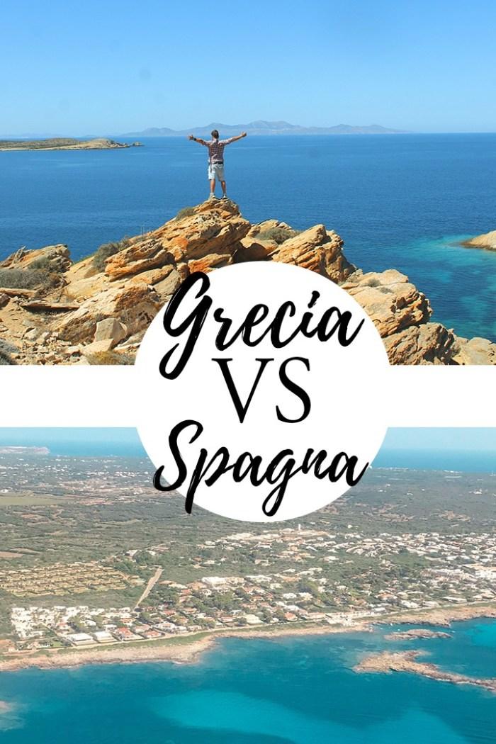 Grecia o Spagna in estate? ecco alcune differenze