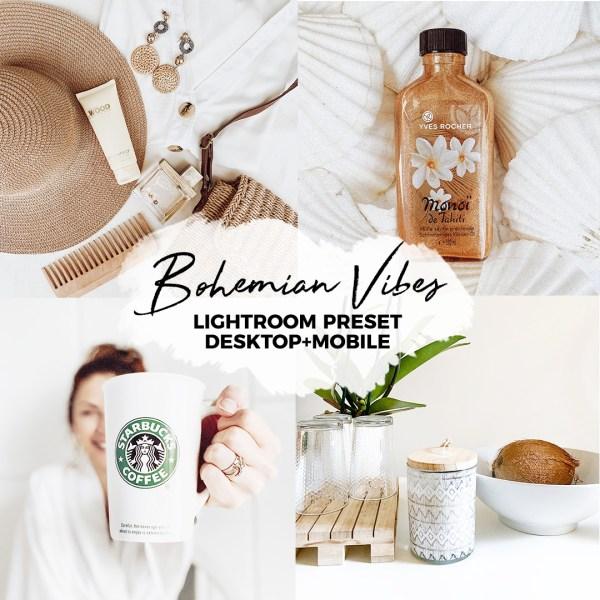 BOHEMIAN VIBES lightroom preset desktop e mobile-Bohemian atmosphere