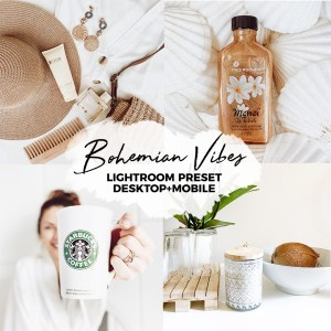 BOHEMIAN VIBES lightroom preset desktop e mobile-Bohemian atmosphere