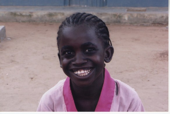 A beautiful smile from one of our Bane students in 2005.