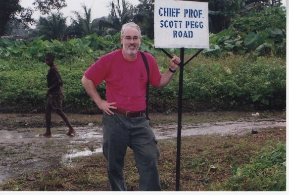 Chief Professor Scott Pegg Road was dedicated in Bodo in 2005.