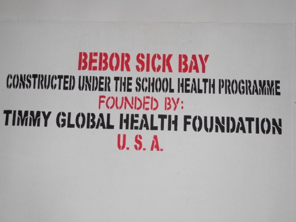 We are so grateful to Timmy Global Health for their continued and generous support of our health program.