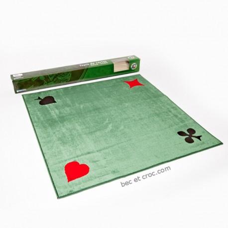 tapis geant de cartes tisse 77 x 77 cm