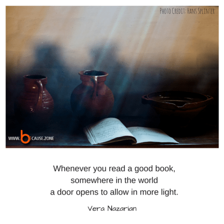 Whenever you read a good book