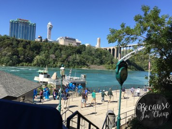 Entry to the Maid of the Mist