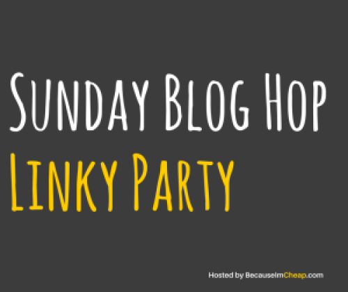 Sunday Blog Hop Title