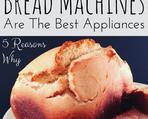 5 reasons why bread machines are the best kitchen appliances.