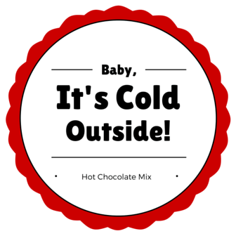 hot cocoa mix printable
