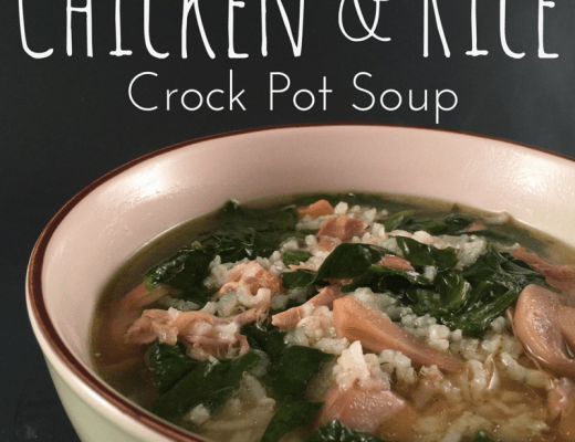 Chicken And Rice Crock Pot Soup Recipe