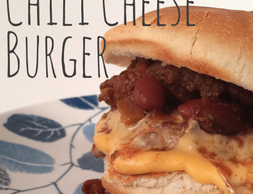 Chili Cheese Burger Recipe