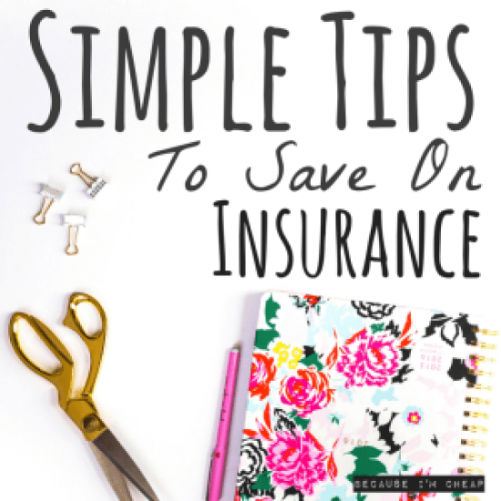 Simple Tips To Save On Insurance