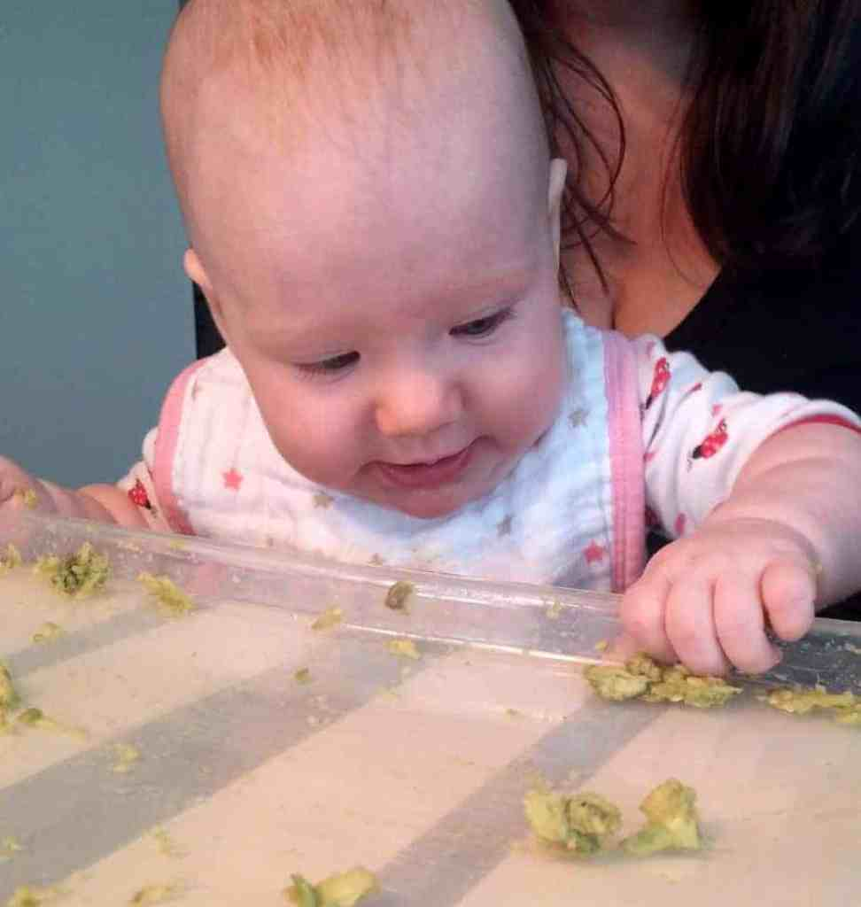 How to get started with baby-led weaning. This post has so many good ideas!