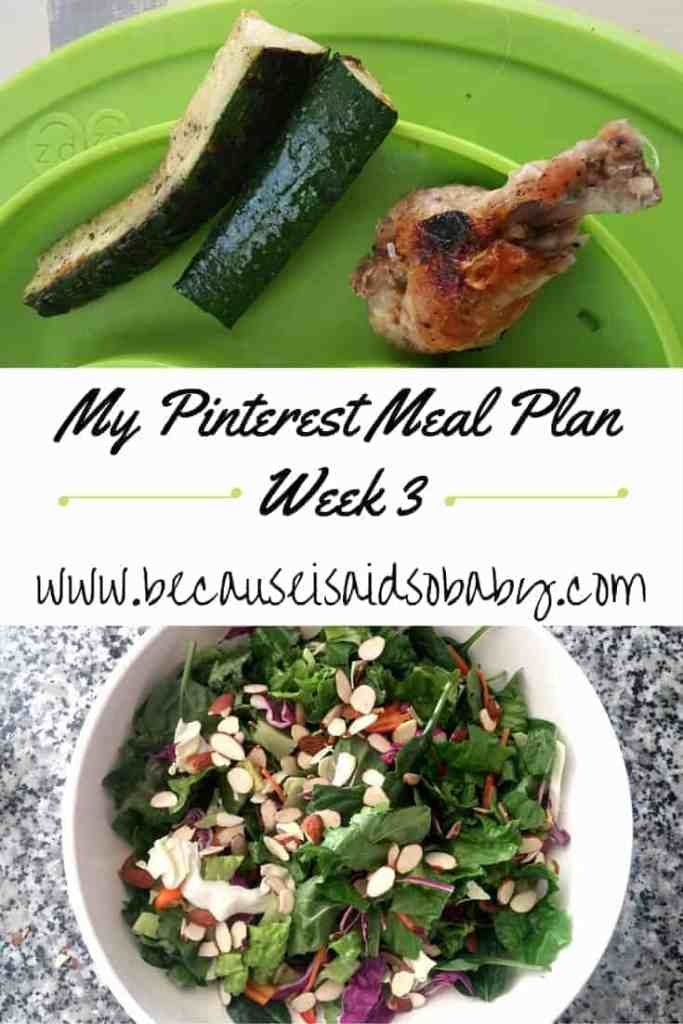This post is awesome! If you're looking for a meal plan for this week, definitely check it out. An entire week's worth of recipes, already picked out.