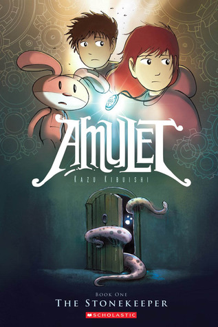 #Review ~ The Stonekeeper (Amulet #1) by Kazu Kibuishi