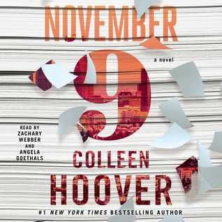 ALL THE FEELS! November 9  by Colleen Hoover #audioreview