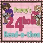 24 hour Dewey #Readathon Goal Post