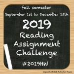 Reading Assignment Report Card #2019HW