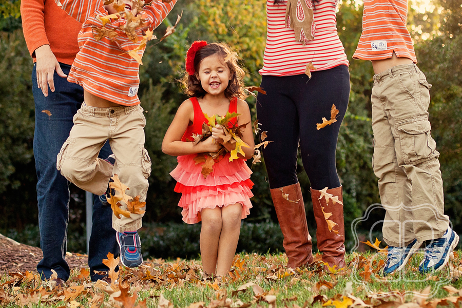 All The Splendor Of Fall With A Gorgeous Charlotte Family