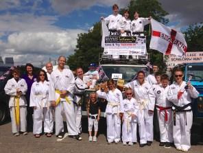 beccles-taekwondo-at-beccles-carnival-2013