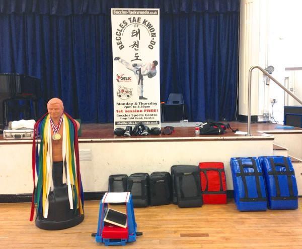 Beccles Free School taekwondo lessons