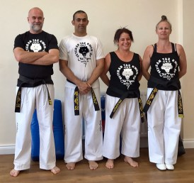 'Old Tigers' instructors ready and waiting ;)