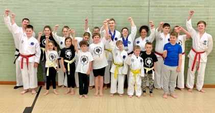 Our new British Taekwondo Champions and medalists
