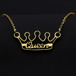My Shine Custom Nameplate Pendant Gold Silver Rose Gold Plated Custom Name Personalized Jewelry