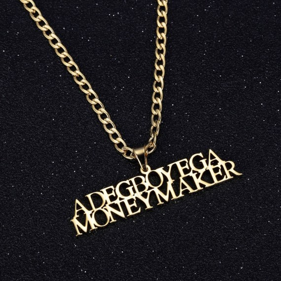 multi line name necklace