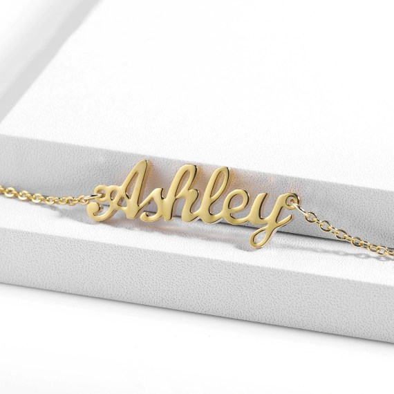 customized custom personalized name anklet for women fashion leg stainless steel gold plated waterproof