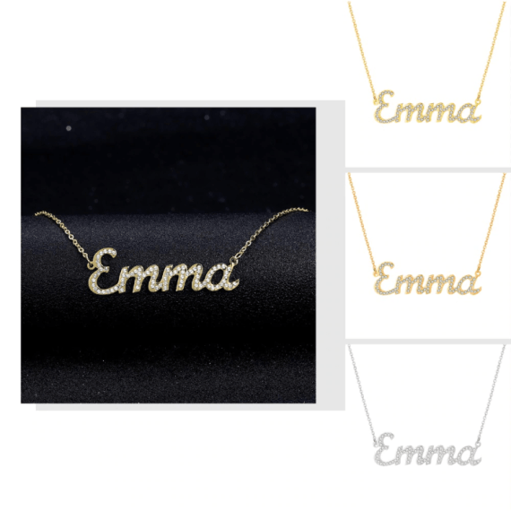 Custom Made Bespoke Any Name Necklace For Women