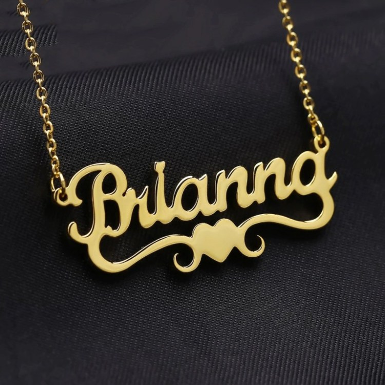 Custom Name Necklace For Women