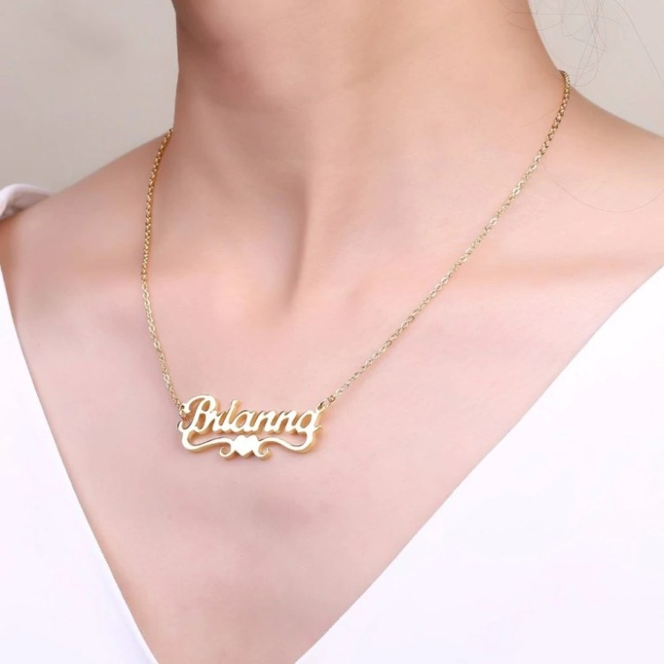 Girl Name Necklace My High Quality Favorite Casual Wear Necklace