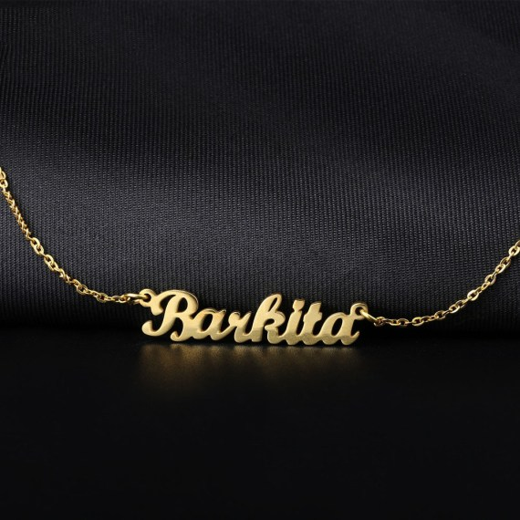 Personalized name necklace gold stainless steel name necklace customized name necklaces custom pendant charm women jewelry