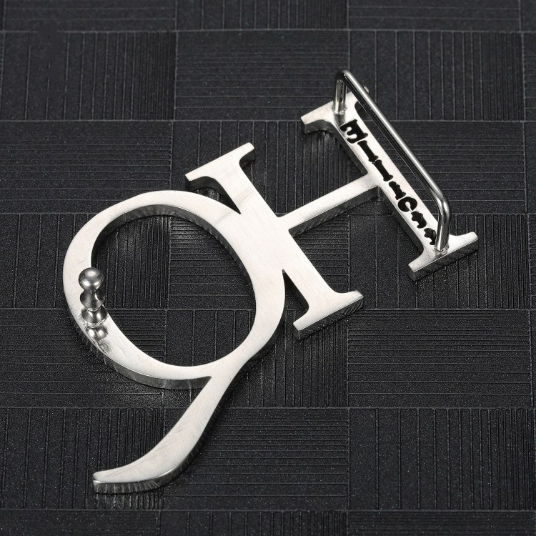Custom bespoke gift ideas belt buckle with name and initials