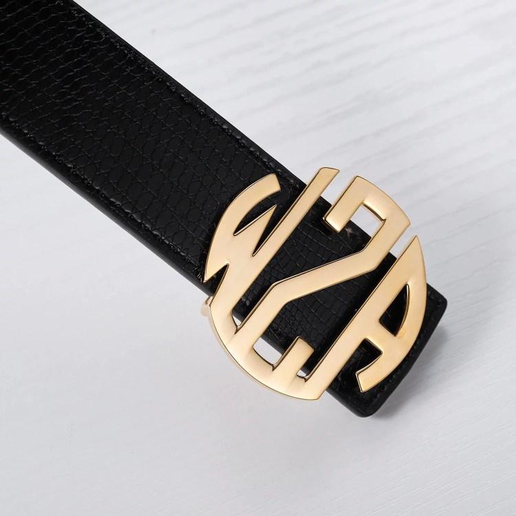 customizable belt buckle design for men