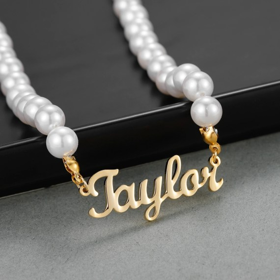 Single Name Necklace For Posh Women High Quality Classy Custom Name Necklace Personalized Jewelry For Casual Outfits Casual Meetups