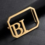 Custom 2 English Initials Belt Buckles With Lychee Crocodile And Plain Style Belt For Casual Accessory Lovers High Quality Two Letters Belt Buckle For Men