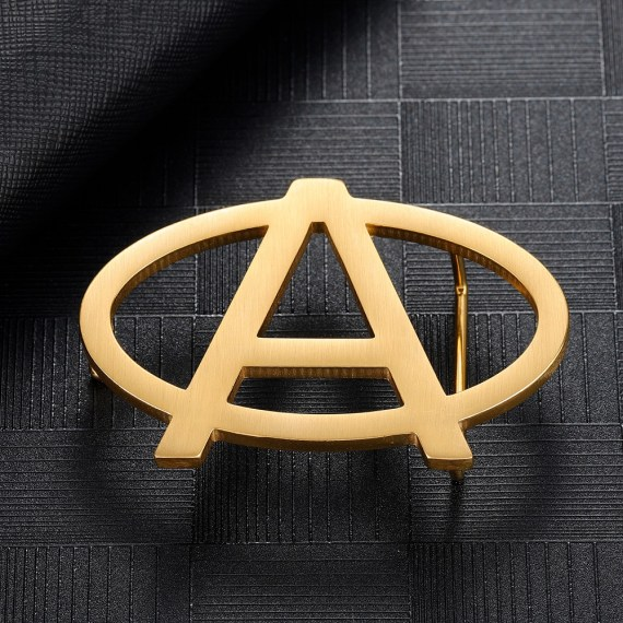 Custom Letter Belt Buckle For Men Bespoke Personalized Custom Designs For Men's Waist Belt High Quality Suspender Wear For Real Men Beceff Men's Accessories