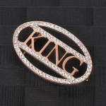 High Quality Cubic Zirconia Crystal Inlaid Custom Premium Waist Belt Buckle For Men And Women Fashion Accessory For Party Outfits Personalized Name Belt Buckle