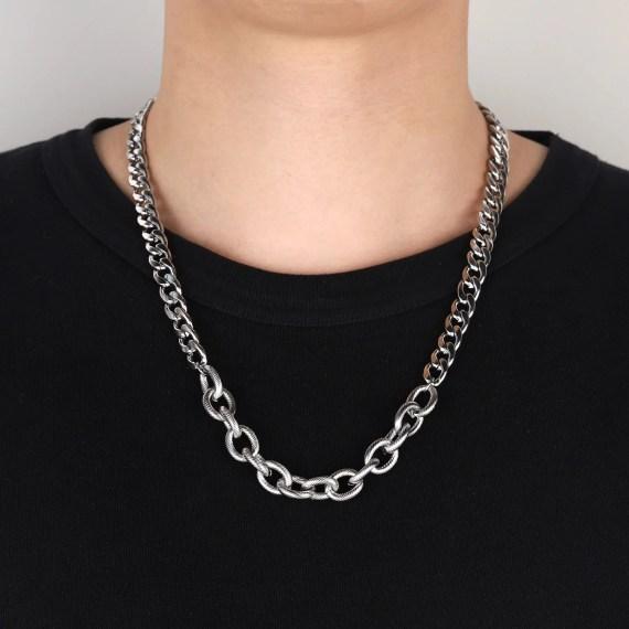 curb men chain