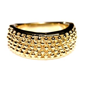 Fashion ring goud