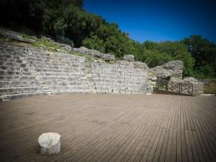 Butrint: Amphitheater