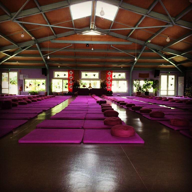 Große Meditationshalle