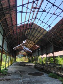 Nebengebäude in Canfranc